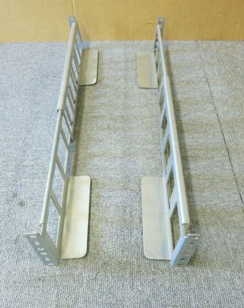 "4 Post Universal Server Rack Mount Rail Adjustable from 19"" to 28""  3U"